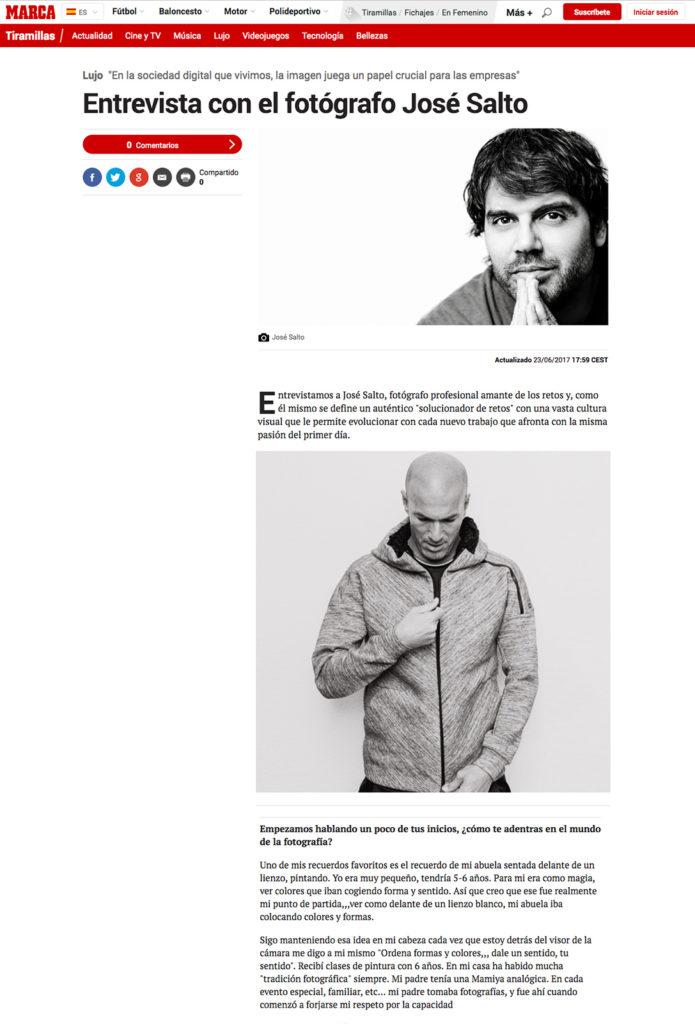 Fotografo freelance JoseSalto.com articulo de prensa