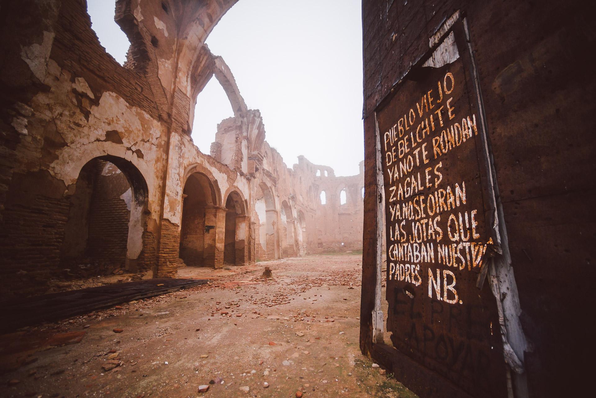 Belchite, Canal Historia, jose salto, fotógrafo freelance