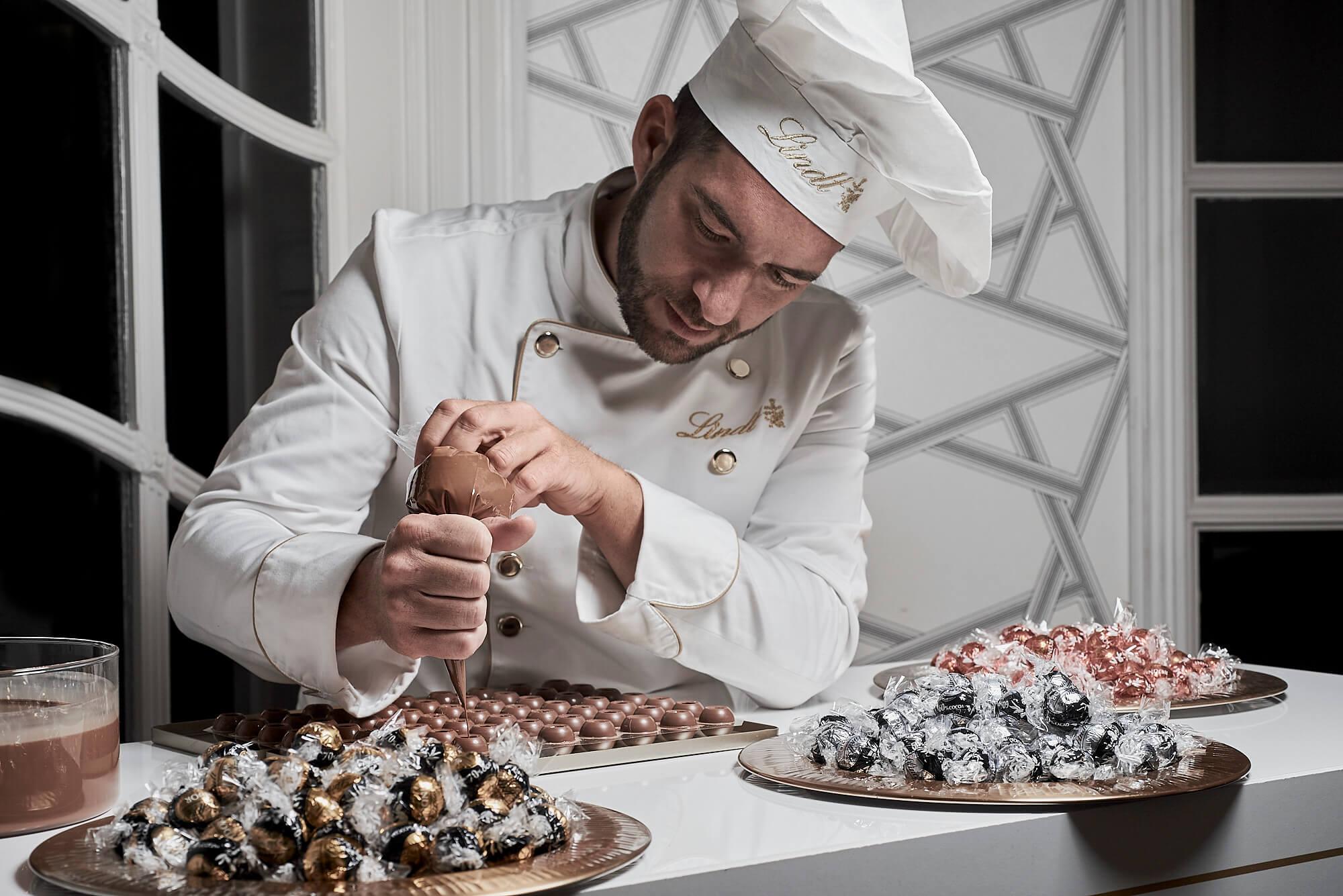 Lindt, Maestro Chocolatero, Fotografo Gatronomico