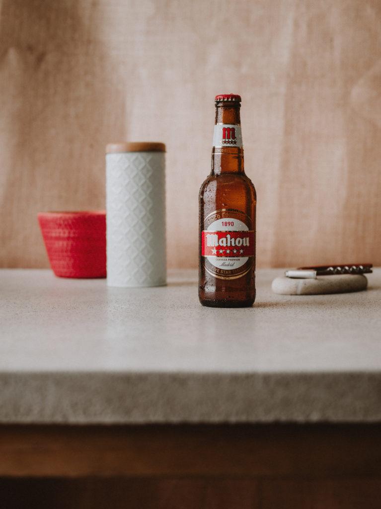 Fotografía Publicitaria Cerveza Mahou